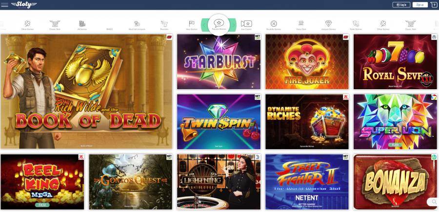 Slot Section Sloty Casino