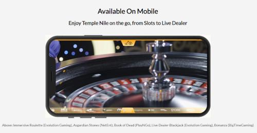Temple Nile Casino Mobile Casino