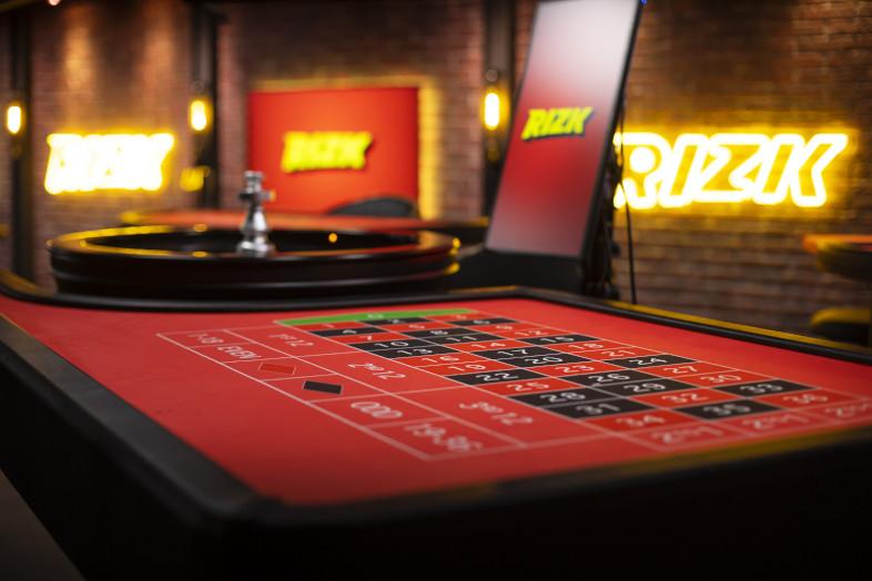 Rizk Live Casino Environment