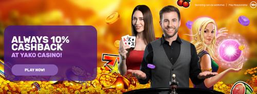 Yako Casino Cashback offer
