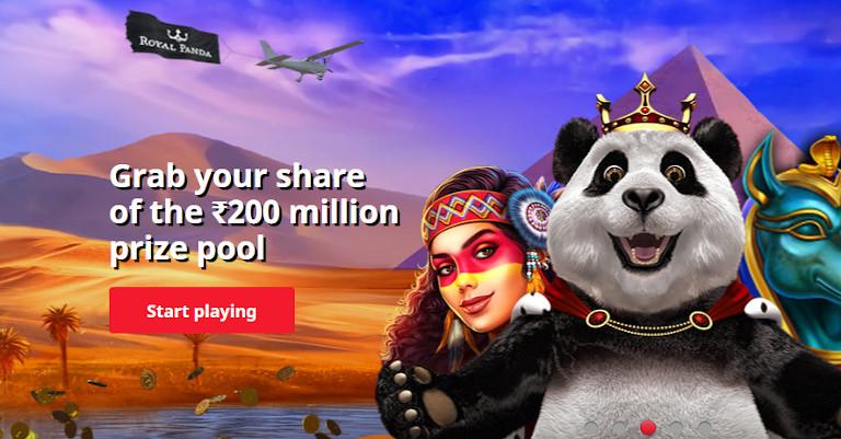 Royal Panda Casino Prize Pool