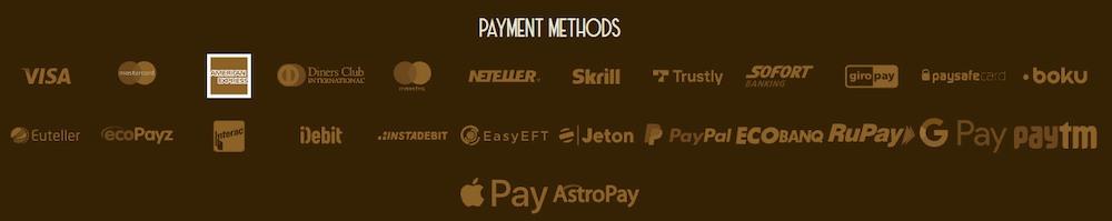 Casino Lab Payment Methods