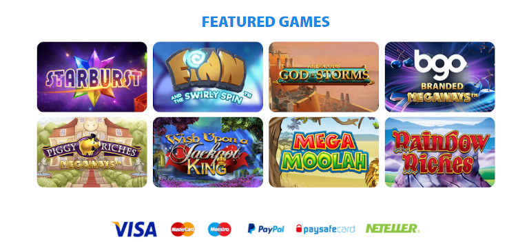 BGO India Featured Games