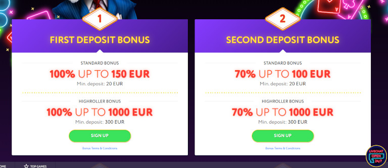 Slot Wolf Casino India Deposit Bonuses