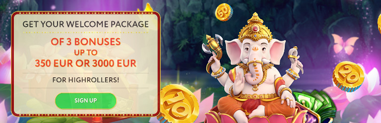 Slot Wolf Casino India Welcome Package