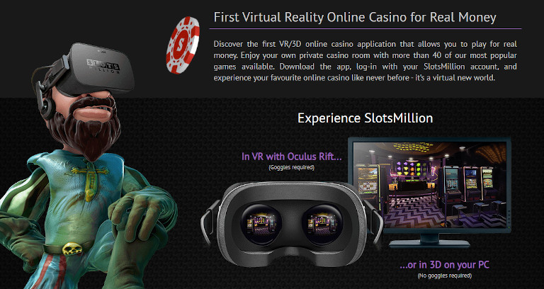 Slotsmillion Casino India In VR