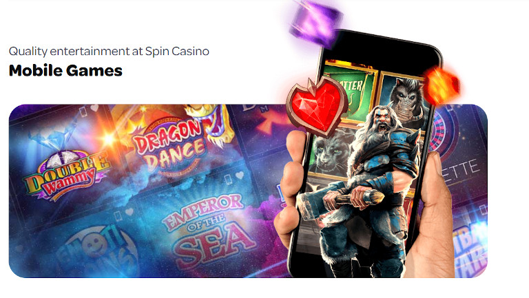 Spin Casino India Mobile Games