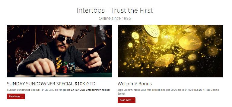 Intertops Casino India Poker