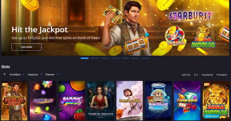 Twin Casino India Slot Selection