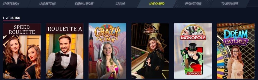 rabona casino live
