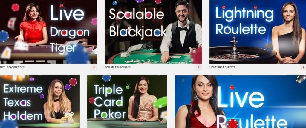Zulabet Live Casino