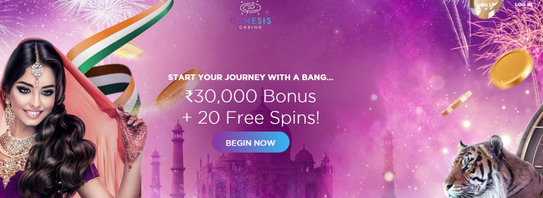Genesis Casino India Welcome Offer