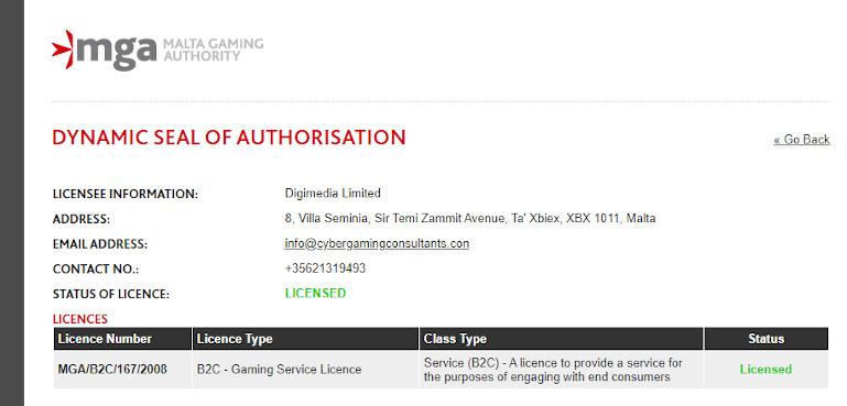 Royal Vegas Casino India MGA License