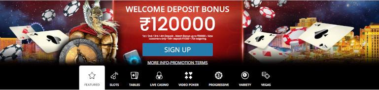 Royal Vegas Casino India Welcome Bonus