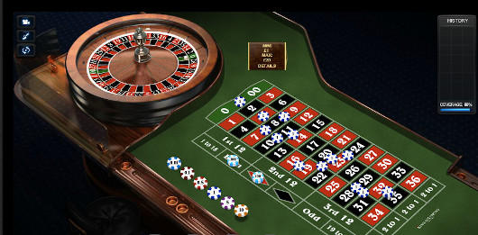 Roulette Table at Indian Casinos