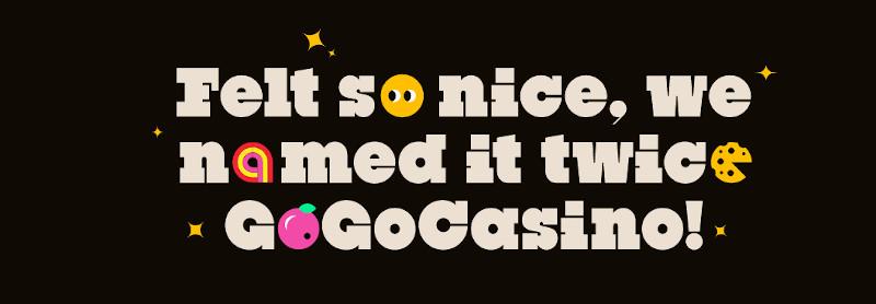 GoGo Casino India Homepage Slogan