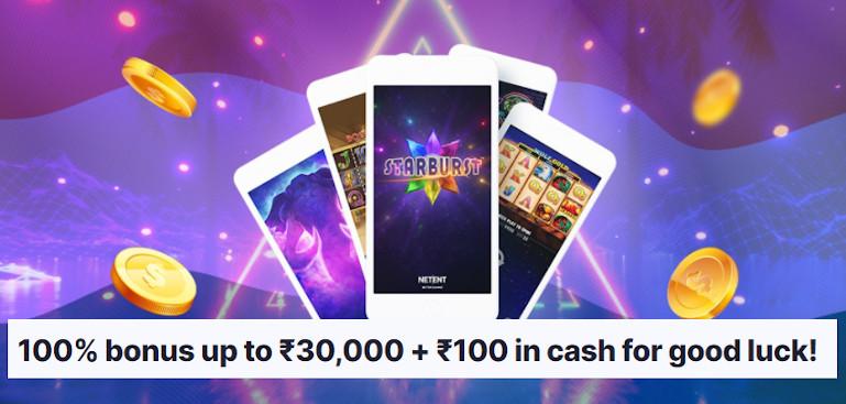 MegaRush Casino India Welcome Bonus Offer